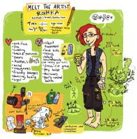 Meet the Artist - Roihe by Roihe