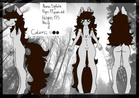 Sylwia New Reference by dark-lavendeeer