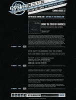 The Strokes - Wordpress Page by manya