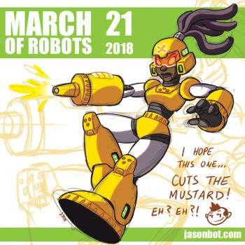 March of Robots 2018 21 by jasonhohoho