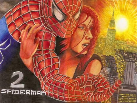 Spider Man II by Junior-Rodrigues
