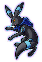 Umbreon Commission by PrinceofSpirits