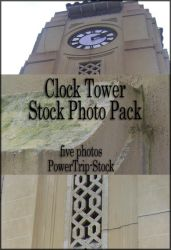 Clock Tower Stock by PowerTrip-Stock