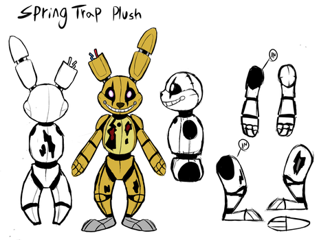 Spring Trap Plush Layout by Skeleion