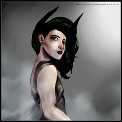 Alex as Lilith the demon(Contest Entry) by DaOneMaika