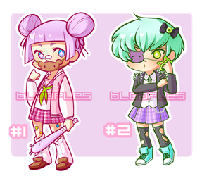 Adopts 02 - Sukeban [OPEN] by blooples