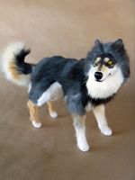 Mauser the Malamute Room Guardian by AnyaBoz