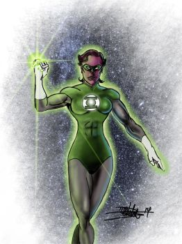 Green Lantern by hypolitus
