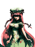 Hong Meiling by ougibro