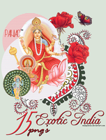 15 Exotic India PNG'S by misspainiac