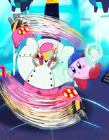 42 - Kirby Planet Robobot: vs. Susie by Whale-Ly