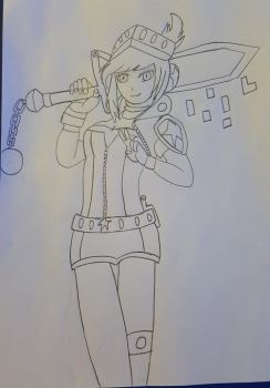 Arcade Riven Drawing  by remmehtan