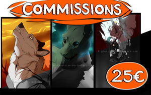 Headshot commissions - CLOSED by Ghentian