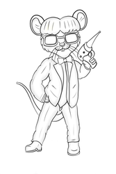 Jeff (Uncoloured) by Macarou
