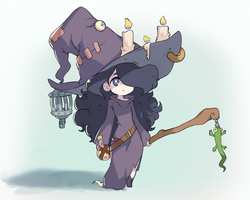 Tiny Witch by sa-ryong