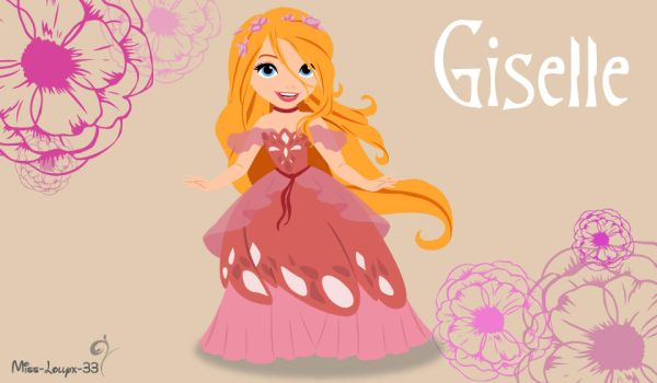 No-Disney Young Princess ~ Giselle (version 2) by miss-lollyx-33