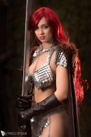 Project Alice Cosplay - Red Sonja by PixelsofShae