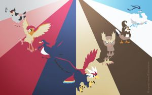 Pokemon Spectrum - Flying