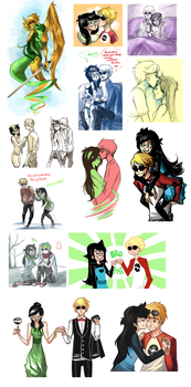 almost all the davejade by WingJourneys