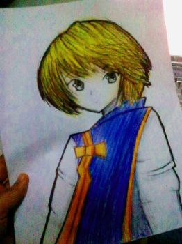 Kurapika by MysticaLynn