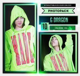 G DRAGON #18 (BIG BANG) |PHOTOPACK| by WithoutTheLove-Music