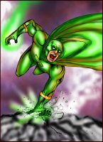 The Green Zap by BigRob1031