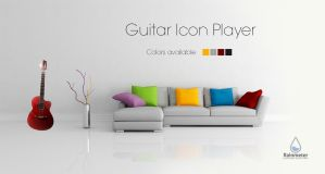 Guitar Musical Icon by amadis33