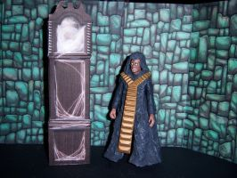 Deadly Assassin - The Master and His TARDIS by MisterBill82
