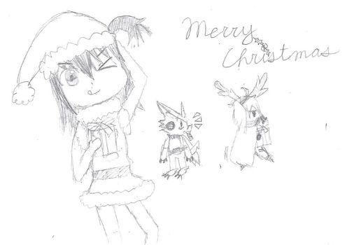 Merry Christmas 2011 by XAngelCharityX