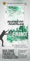 JFINECS Building Financial Foundation Design by Clarkology