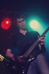 Bassist from Five Minutes Late V. by B-onDA