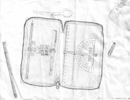My pencil-case by Benji7