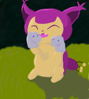 Skitty With Sockpuppets by hkkkkals