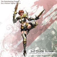 Human Female Fighter 3rd Armor by reaper78