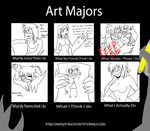 Art Majors by TheLunarEmpress