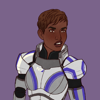 [ME] Carey Shepard by hes-per-ides