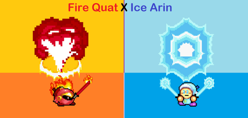 Frozen Reference (Fire X Ice) by MetaMirby