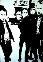 The Clash Black and White 2004 by chrispjones