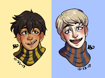 Albus and Scorpius by ShatteredPorcelain32