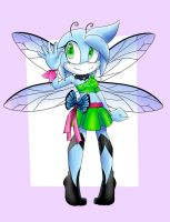Female Dragonfly adoptable :CLOSED: by TothViki