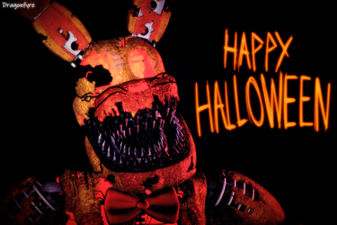Happy Halloween! - FNaF 4 by DaisytheDragon
