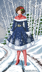 Winter Lolita by AlbinoGrimby