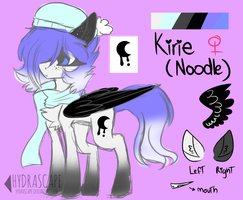 Kirie (Noodle) Ref [Original Main Character] by Hydrascape