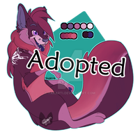 [CLOSED]  Fox Amino Adopt: Glaze Cake by Takarti