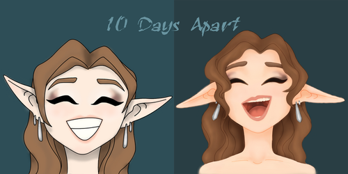 Elf 1 and 2 Comparison by ellenrose98