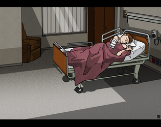 Hospital Scenes - Patient's Room by MauserGirl