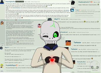 Comments are Cure by GreenInsanity