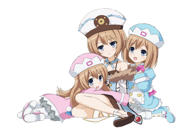 Hypnotize and/or Tickle Blanc, Rom and Ram RP by Soulmourn