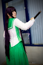 Saeko Busujima III by ishgardcosplay