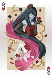 Adventure Time: Queen of Hearts by cynicalplushie